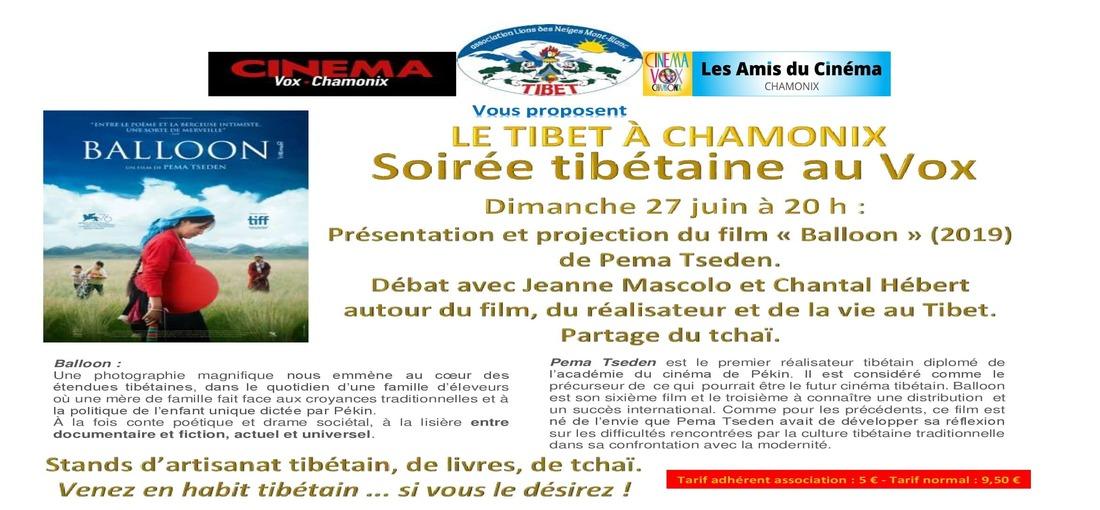 Soirée Tibétaine au Vox
